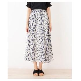 SHOO・LA・RUE(Ladies)(シューラルー(レディース))フラワーギャザースカート