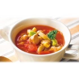 送料無料 鶏肉とお豆のごろっとおかずミネストローネ 160g×10袋 ヘルシー 健康 スープ 温活
