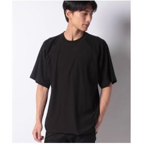 koe 裾ラウンドビッグTEE(ブラック)【返品不可商品】