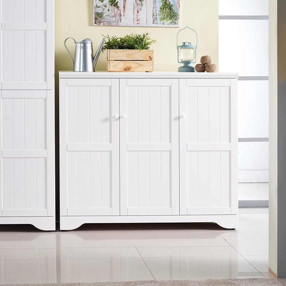 朵拉純白4尺鞋櫃/H&D東稻家居-消費滿3千送點數10%