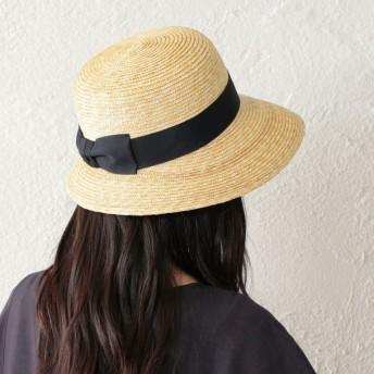 SALE【アマカ(AMACA)】 【AMACA×田中帽子店】 anne 帽子 ネイビー