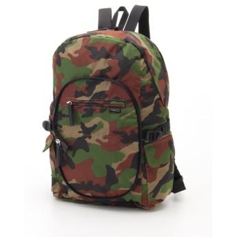50%OFF Y'SACCS(bag) (イザック(バック)) パッカブルリュック カモフラージュ