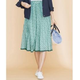 [マルイ]【セール】【洗える】アネモネプリント スカート/組曲 L(KUMIKYOKU L)
