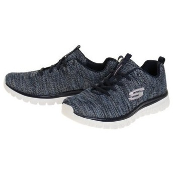 スケッチャーズ(SKECHERS) GRACEFUL TWISTED FORTUNE 12614-NVBL (Lady's)