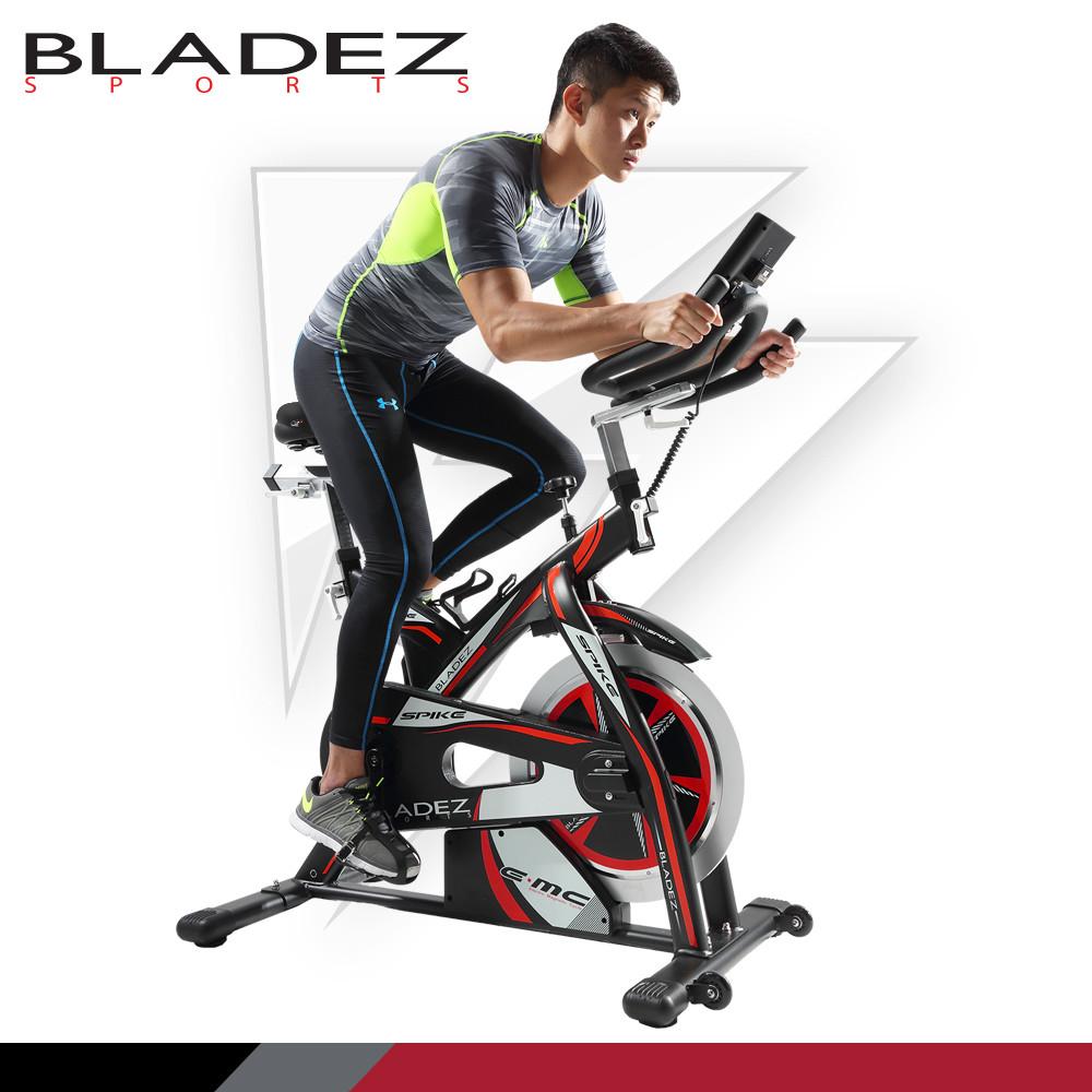 BLADEZ 951C-SPIKE-R E.MC 雙合金程控飛輪健身車 ASBK