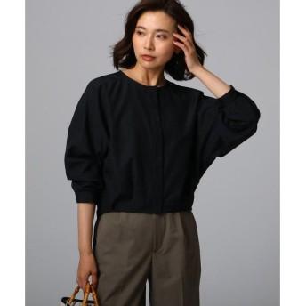 UNTITLED / アンタイトル コットン(綿)混タンブラー比翼タックシャツ