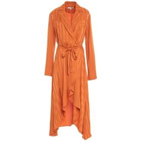 《セール開催中》SILVIAN HEACH レディース 7分丈ワンピース・ドレス オレンジ M ポリエステル 100%