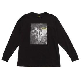 POLER CUTE DONKEY ロングスリーブTシャツ 55200012-BLK (Men's)