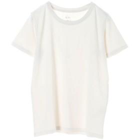 イーハイフンワールドギャラリー E hyphen world gallery クルーネックTシャツ (Light Gray)