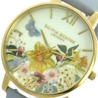 腕時計 レディース オリビアバートン OLIVIA BURTON OB16FS96 クォーツ グレーブルー マルチカラー