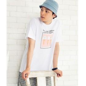 [マルイ]【セール】スイーツフォトTシャツ/ウィゴー(メンズ)(WEGO)