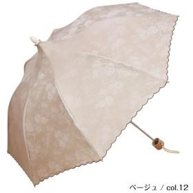 [マルイ] パゴダ日傘(mini rose/ミニローズ ミニ折りたたみ・UVカット・晴雨兼用・4カラー)/ルミエーブル(Lumiebre)