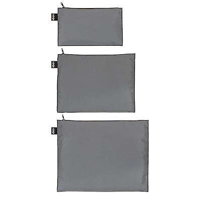 LOQI 三入組收納袋-反光 ZPRE