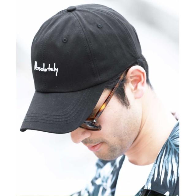 【15%OFF】 ジギーズショップ 「Absolutely」刺繍キャップ / キャップ メンズ 帽子 CAP メンズ ブラック フリーサイズ 【JIGGYS SHOP】 【タイムセール開催中】