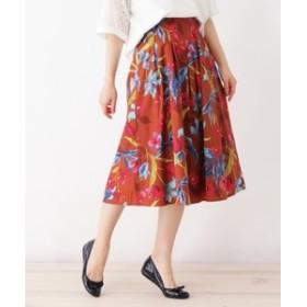 【SOUP:スカート】◆LAVEANGE リゾートフラワースカート