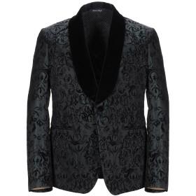 《期間限定 セール開催中》BRIAN DALES メンズ テーラードジャケット ブラック 50 アクリル 70% / ウール 25% / ナイロン 5%