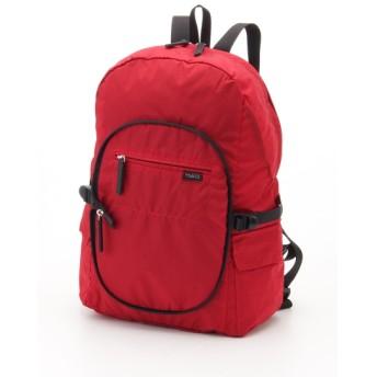 50%OFF Y'SACCS(bag) (イザック(バック)) パッカブルリュック レッド