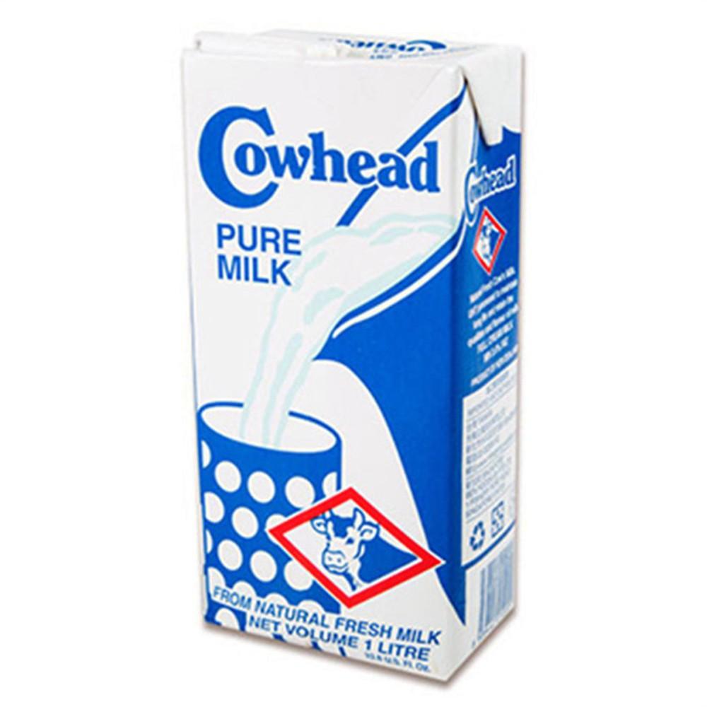 [ Cowhead田園 ] 紐西蘭的天然營養全脂鮮乳1000ml/瓶