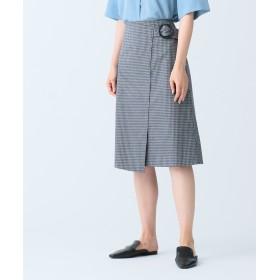 【オンワード】 JOSEPH WOMEN(ジョゼフ ウィメン) OAK / MURINE COTTON スカート ネイビー 34 レディース 【送料無料】