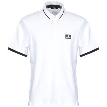 《セール開催中》KARL LAGERFELD メンズ ポロシャツ ホワイト S コットン 95% / ポリウレタン 5%