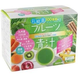 【訳あり 特価】 賞味期限:2020年12月30日 新日配薬品 乳酸菌入り フルーツ青汁 3g×15包