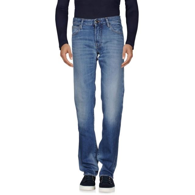 《期間限定セール開催中!》EMPORIO ARMANI メンズ ジーンズ ブルー 29 コットン 98% / ポリウレタン 2%