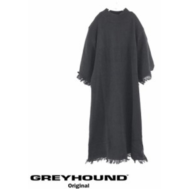 【GREYHOUND】 グレイハウンド Silence Over Fit Tee Black