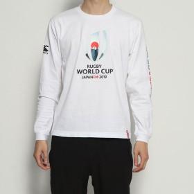 カンタベリー CANTERBURY メンズ ラグビー 半袖シャツ RWC2019 L/S TEE VWD49423
