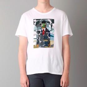 Tシャツ Line Art015 (TRUSS ヘビーウェイトTシャツでIM転写)