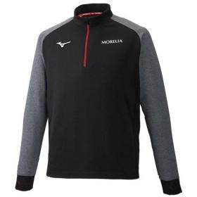 ミズノ モレリア ソフトニットシャツ ブラック×キャスチャコール Mizuno P2MC9005 09