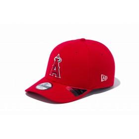 NEW ERA ニューエラ キッズ 9FIFTY ロサンゼルス・エンゼルス スカーレット × チームカラー スナップバックキャップ アジャスタブル サイズ調整可能 ベースボールキャップ キャップ 帽子 男の子 女の子 52 - 55.8cm 12108295 NEWERA