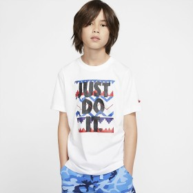 ナイキ YTH JDI プリント Tシャツ NIKE (ナイキ) CI9618-100 WHT