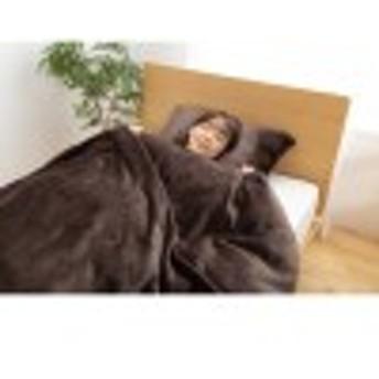 毛布にもなるプレミアムマイクロファイバー掛け布団カバー