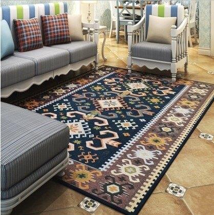 外銷日本等級 出口日本 120*180 CM 前衛圖騰紋風格 高級地毯/ 玄關地毯 / 客廳地毯