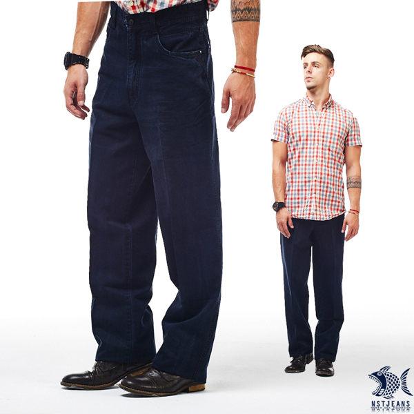 [即將斷貨] NST Jeans 慢紳士 極柔透氣竹纖維 高腰牛仔褲(中高腰寬版) 002(8702) 台製 紳士 男