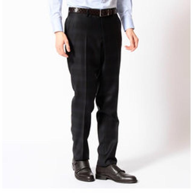 【COMME CA MEN:スーツ・ネクタイ】CERRUTI社イルプリンチペチェックセットアップパンツ