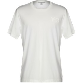 《期間限定 セール開催中》Y-3 メンズ T シャツ ホワイト XS コットン 100%