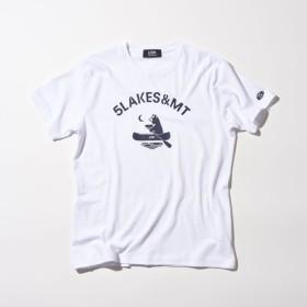 【ファイブレイクス・アンド・エムティー(5LAKES & MT)】 ベアーパドルTシャツ ホワイト