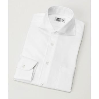 <フェアファクス/FAIRFAX> カッタウェイロイヤルオックスシャツ(8200) ホワイト 【三越・伊勢丹/公式】