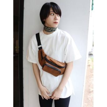 ムルーア MURUA バックプリントオーバーTシャツ (ホワイト)