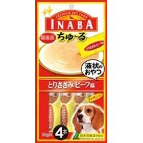 INABAとりささみビーフ味14g×4本 おまとめセット【6個】