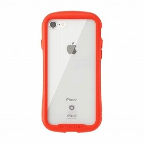 HAMEE [iPhone 8/7専用]iFace Reflectionハイブリッドガラスケース 41-907139(レッド)