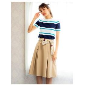 PATTERN Fiona(パターン・フィオナ)スカーフベルト付きスカート