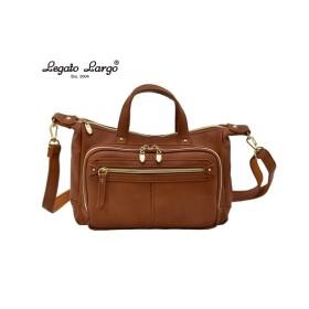 Legato Largo(レガートラルゴ)微光沢2WAYフェイクレザーお財布ショルダーバッグ ショルダーバッグ・斜め掛けバッグ