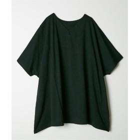 ゆったりドルマンチュニック (Tシャツ・カットソー)(レディース)T-shirts