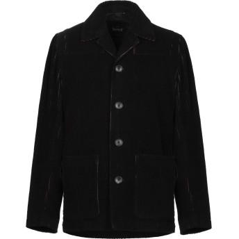 《期間限定セール開催中!》HEV メンズ テーラードジャケット ブラック 46 コットン 45% / ウール 44% / ナイロン 11%