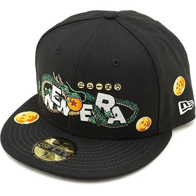 コラボ ニューエラ キャップ NEWERA 59FIFTY ドラゴンボール DRAGON BALL CAP メンズ レディース 帽子 BLACK ブラック 12110822 FW19
