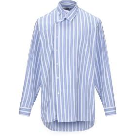 《期間限定セール開催中!》JIL SANDER メンズ シャツ アジュールブルー 39 コットン 100%