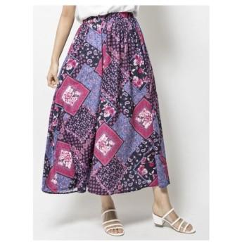 Million Carats(ミリオンカラッツ)【STYLE4】スカーフパネルプリントスカート
