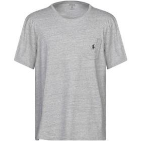 《期間限定セール開催中!》POLO RALPH LAUREN メンズ T シャツ グレー XL コットン 100%